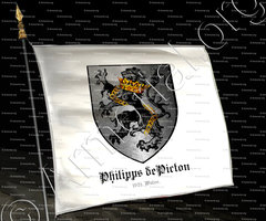 drapeau-PHILIPPS de PICTON_1629, Wales._United Kingdom
