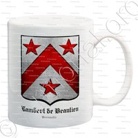 mug-LAMBERT de BEAULIEU_Normandie_France