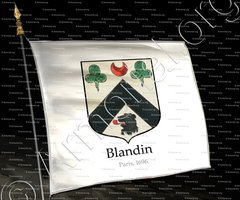 drapeau-BLANDIN_Paris, 1696._France (0)