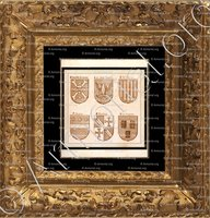 cadre-ancien-or-BRIDOULE_Armorial Planche._France