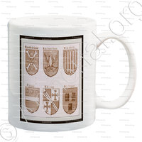 mug-BRIDOULE_Armorial Planche._France