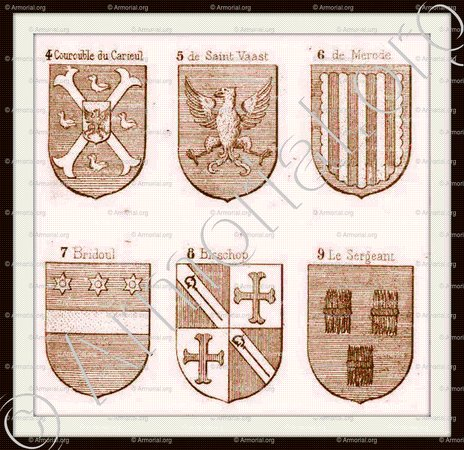 BRIDOULE_Armorial Planche._France