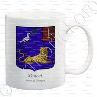 mug-PONCET_Baron de l'Empire_France