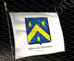 drapeau-BILLON du DEMAINE_Bretagne_France+