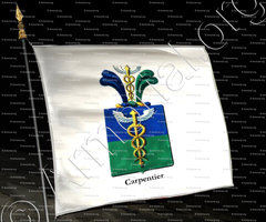 drapeau-CARPENTIER_Armorial royal des Pays-Bas_Europe ()