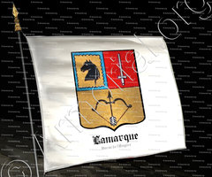 drapeau-LAMARQUE_Baron d'Empire_France