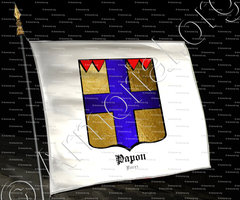 drapeau-PAPON_Forez_France