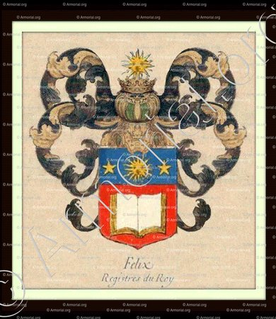FELIX_Paris. Les Registres du Roi, 1696._France +