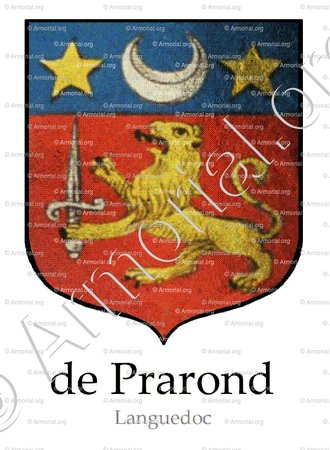 de PRAROND_Languedoc, 1606._France