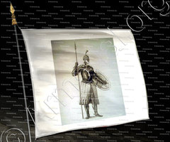 drapeau-Knight  of HEILIG JAKOBUS_Religious and military suit._J.-C. Bar. (2)