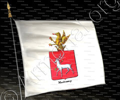 drapeau-MAELCAMP_Armorial royal des Pays-Bas_Europe