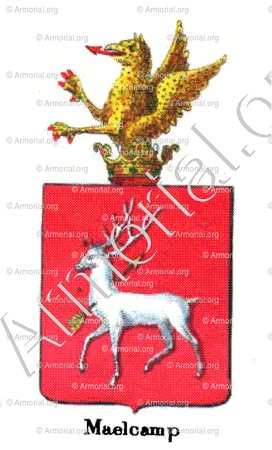 MAELCAMP_Armorial royal des Pays-Bas_Europe