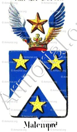 MALEMPRE_Armorial royal des Pays-Bas_Europe