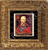 cadre-ancien-or-de BIRAGUE_Cardinal, Chancelier de France_France