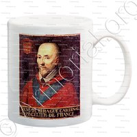 mug-de BIRAGUE_Cardinal, Chancelier de France_France
