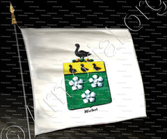 drapeau-MICHEL_Armorial royal des Pays-Bas_Europe