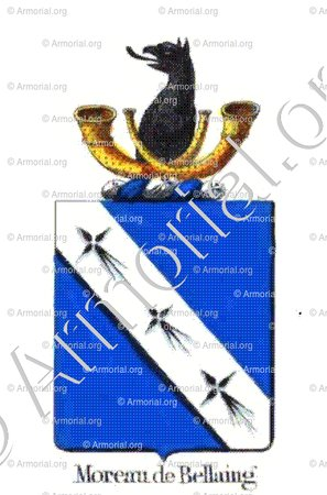 MOREAU DE BELLAING_Armorial royal des Pays-Bas_Europe