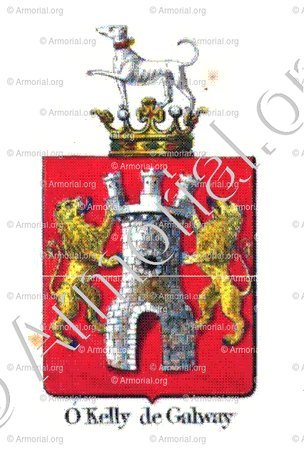 O'KELLY DE GALWAY_Armorial royal des Pays-Bas_Europe