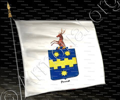 drapeau-PROOST_Armorial royal des Pays-Bas_Europe