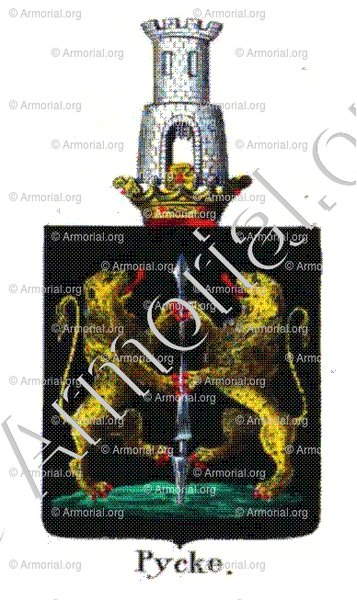 PYCKE_Armorial royal des Pays-Bas_Europe