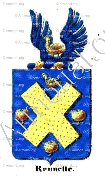 RENNETTE_Armorial royal des Pays-Bas_Europe