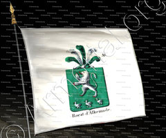 drapeau-ROEST D'ALKEMADE_Armorial royal des Pays-Bas_Europe