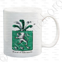 mug-ROEST D'ALKEMADE_Armorial royal des Pays-Bas_Europe