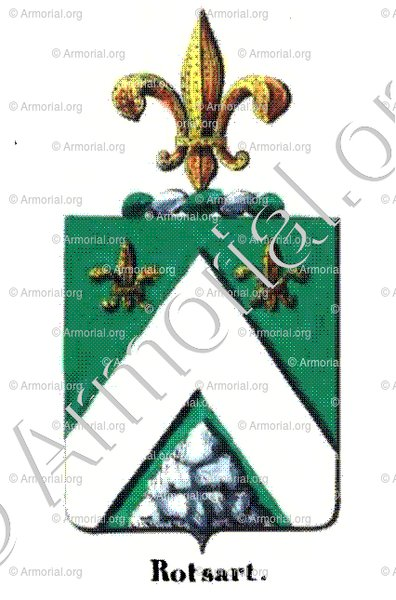 ROTSART_Armorial royal des Pays-Bas_Europe