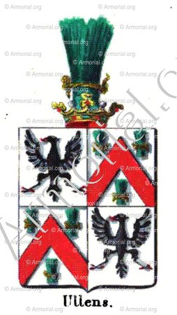 ULLENS_Armorial royal des Pays-Bas_Europe