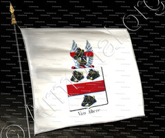 drapeau-VAN ALTERE_Armorial royal des Pays-Bas_Europe