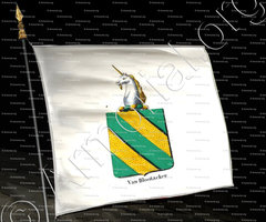 drapeau-VAN BLOOTACKER_Armorial royal des Pays-Bas_Europe