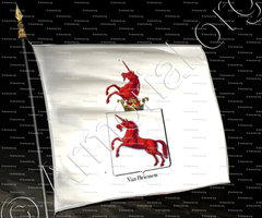 drapeau-VAN BRIENEN_Armorial royal des Pays-Bas_Europe