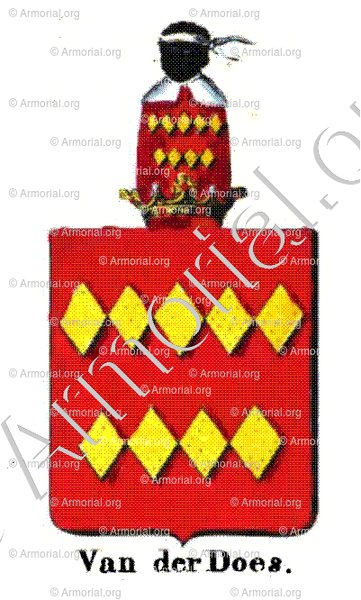 VAN DER DOES_Armorial royal des Pays-Bas_Europe