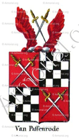 VAN PAFFENRODE_Armorial royal des Pays-Bas_Europe