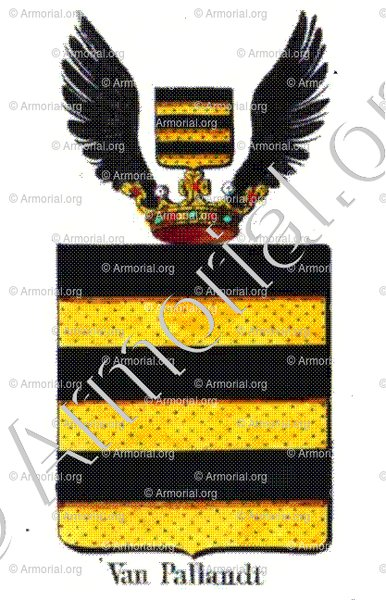 VAN PALLANDT_Armorial royal des Pays-Bas_Europe