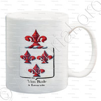 mug-VAN RODE_Armorial royal des Pays-Bas_Europe