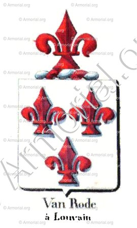 VAN RODE_Armorial royal des Pays-Bas_Europe