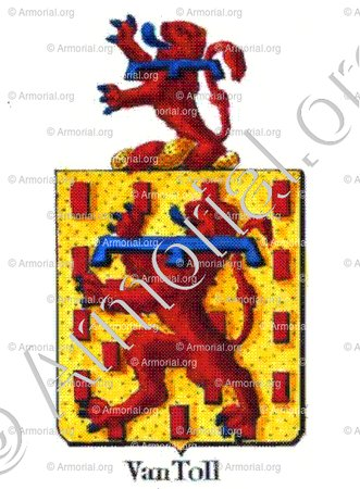 VAN TOLL_Armorial royal des Pays-Bas_Europe