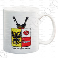 mug-VAN VREDENBURCH_Armorial royal des Pays-Bas_Europe