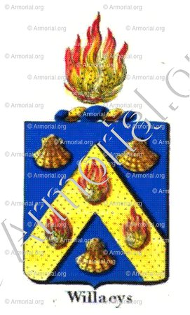 WILLAEYS_Armorial royal des Pays-Bas_Europe