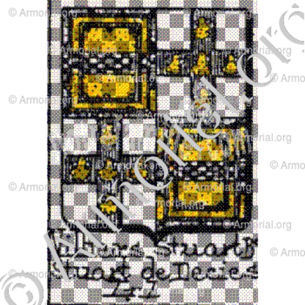 villiers stuart b stuart de decies armoiries blason etymologie et origine nom de famille. Black Bedroom Furniture Sets. Home Design Ideas